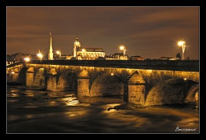 stages photo Blois : photo de Blois de nuit