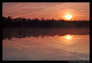 photo bord du lac de Poses. stage photo Rouen