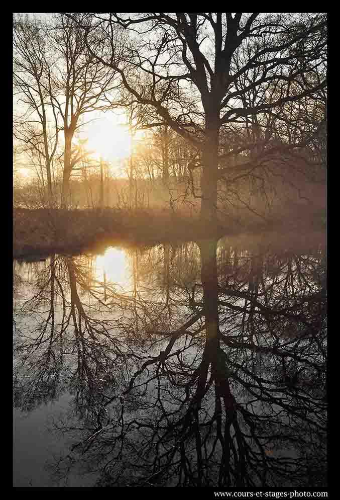 photo au lever de soleil. cours photo Rouen