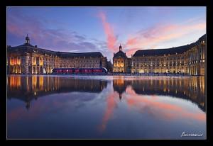 Photo de Bordeaux : place de la Bourse