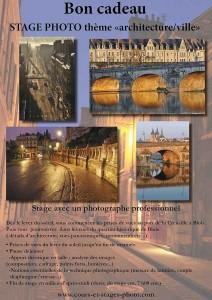 bons cadeaux stage photo Blois