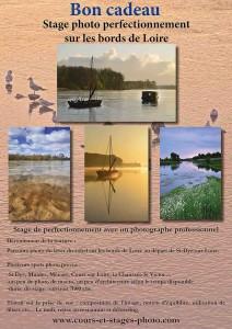 bons cadeaux stage photo perfectionnement Loire