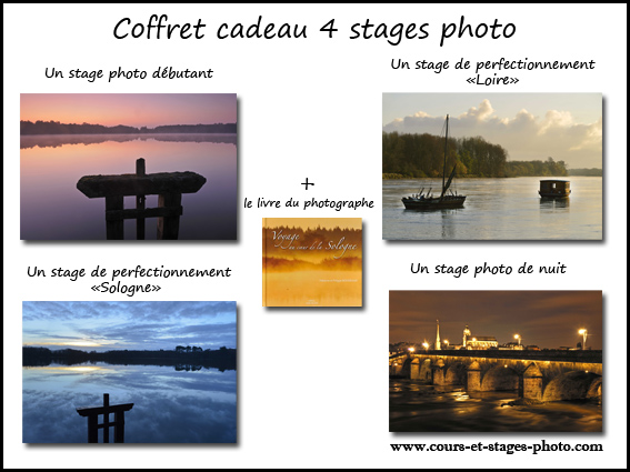 bon cadeau stage photo