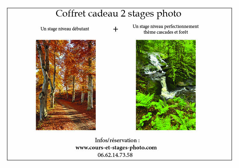 coffret cadeau stage photo St Etienne